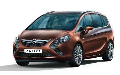 Opel Zafira a 7 Posti